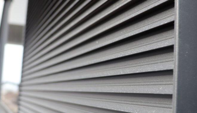 Aluminium muurroosters