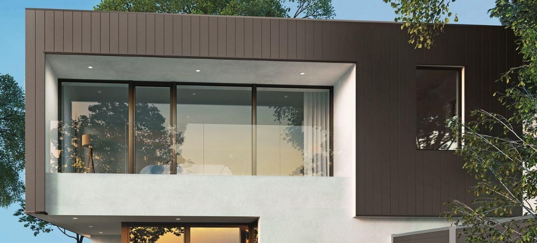 Aluminium design gevel