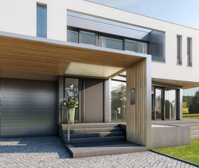 Elegant PVC deur